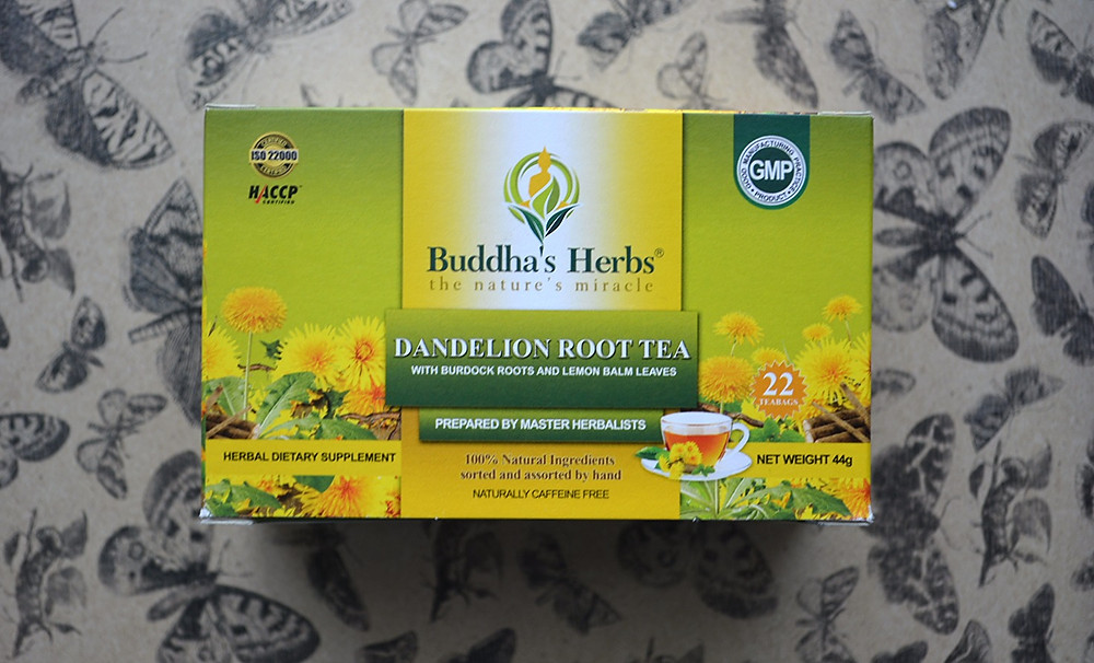 THE SCENT: Dandelion Root Tea | Buddha's Herbs
