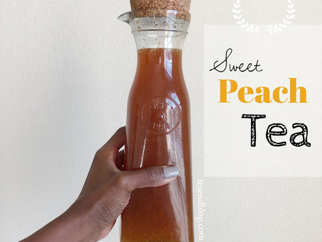 Recipe: Sweet Peach Tea