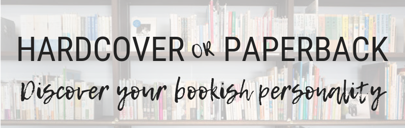 Hardcover or Paperback? And what your preference says about you.