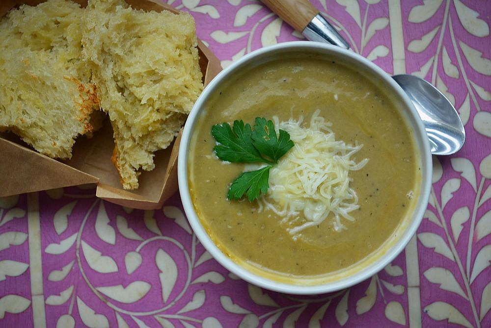 Recipes & DIY | Creamy Leak Tea Soup