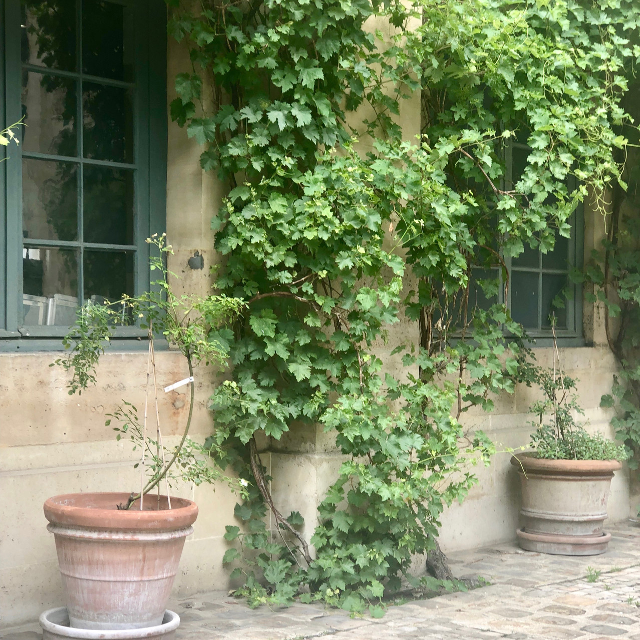 Courtyard of The Institute of France