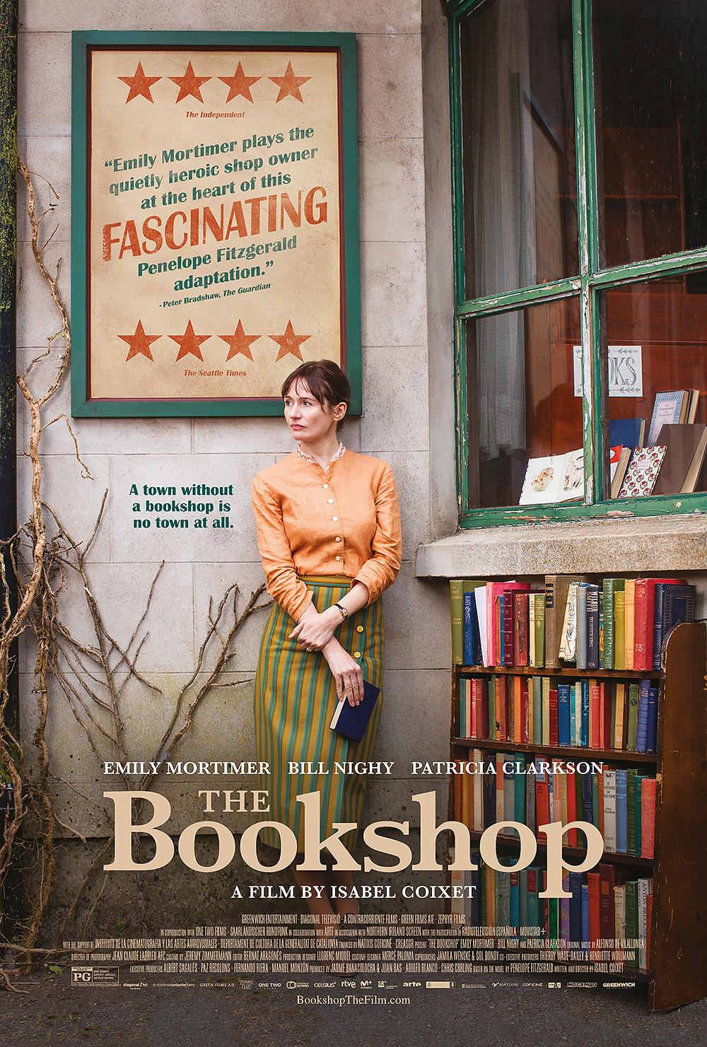 The Bookshop movie graphic