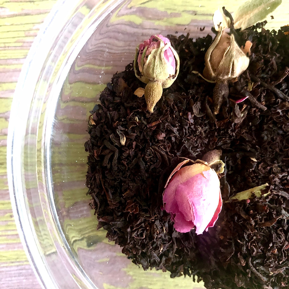 THE SCENT: Rose Pouchong with Rose Buds  | The Rare Tea Co.