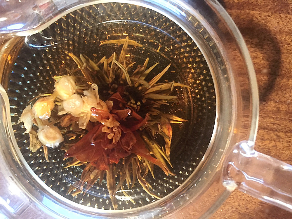 How To Steep A Blooming Tea