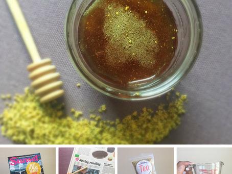 Elderflower Infused Honey