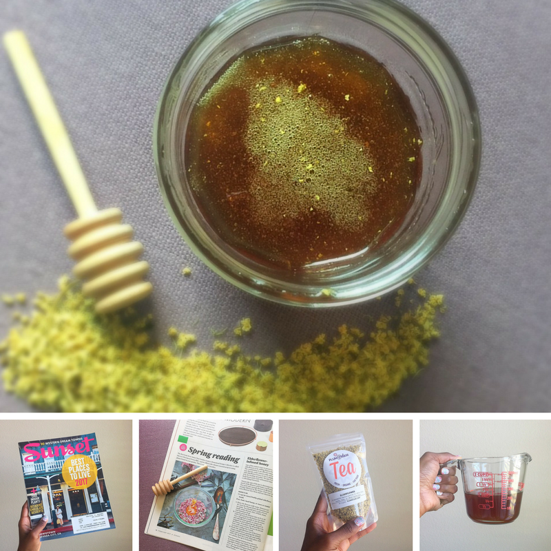 Elderflower Infused Honey