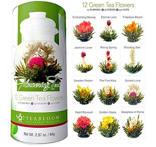 How To Steep A Blooming Tea | Flowering Teas by Teabloom