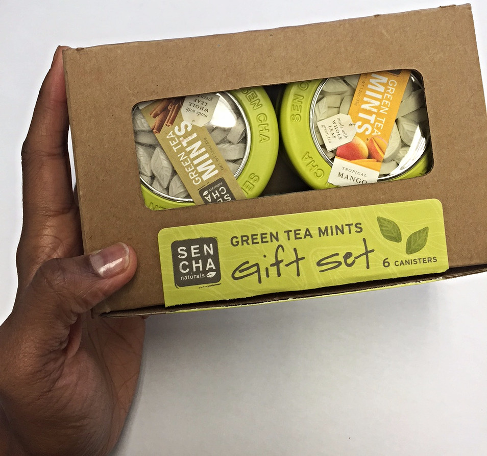 Green Tea Mints by Sencha Naturals | gift set; all 6 flavors
