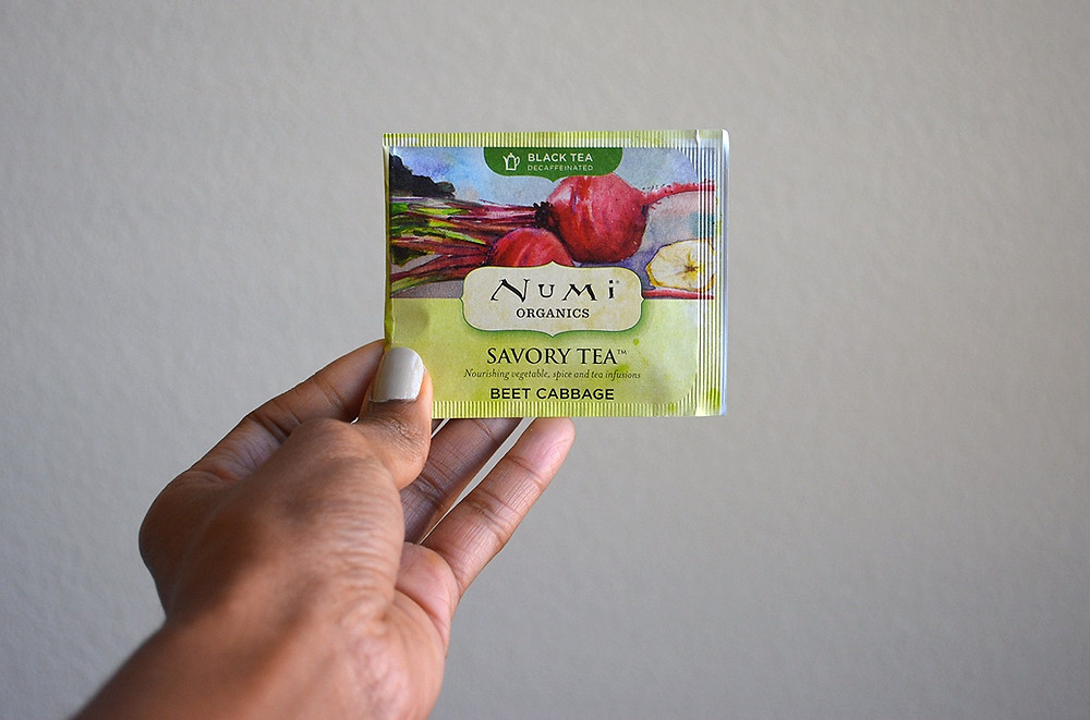 Numi Organics Savory Tea | Beet Cabbage