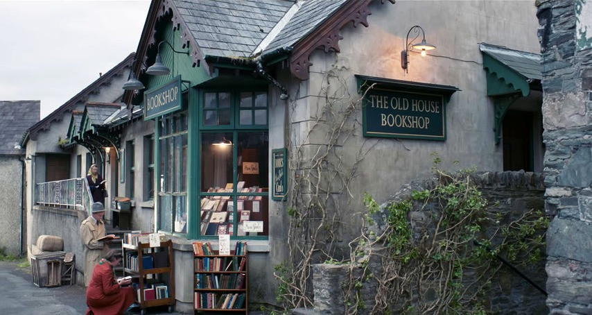 The Old House Bookshop in the film The Bookshop