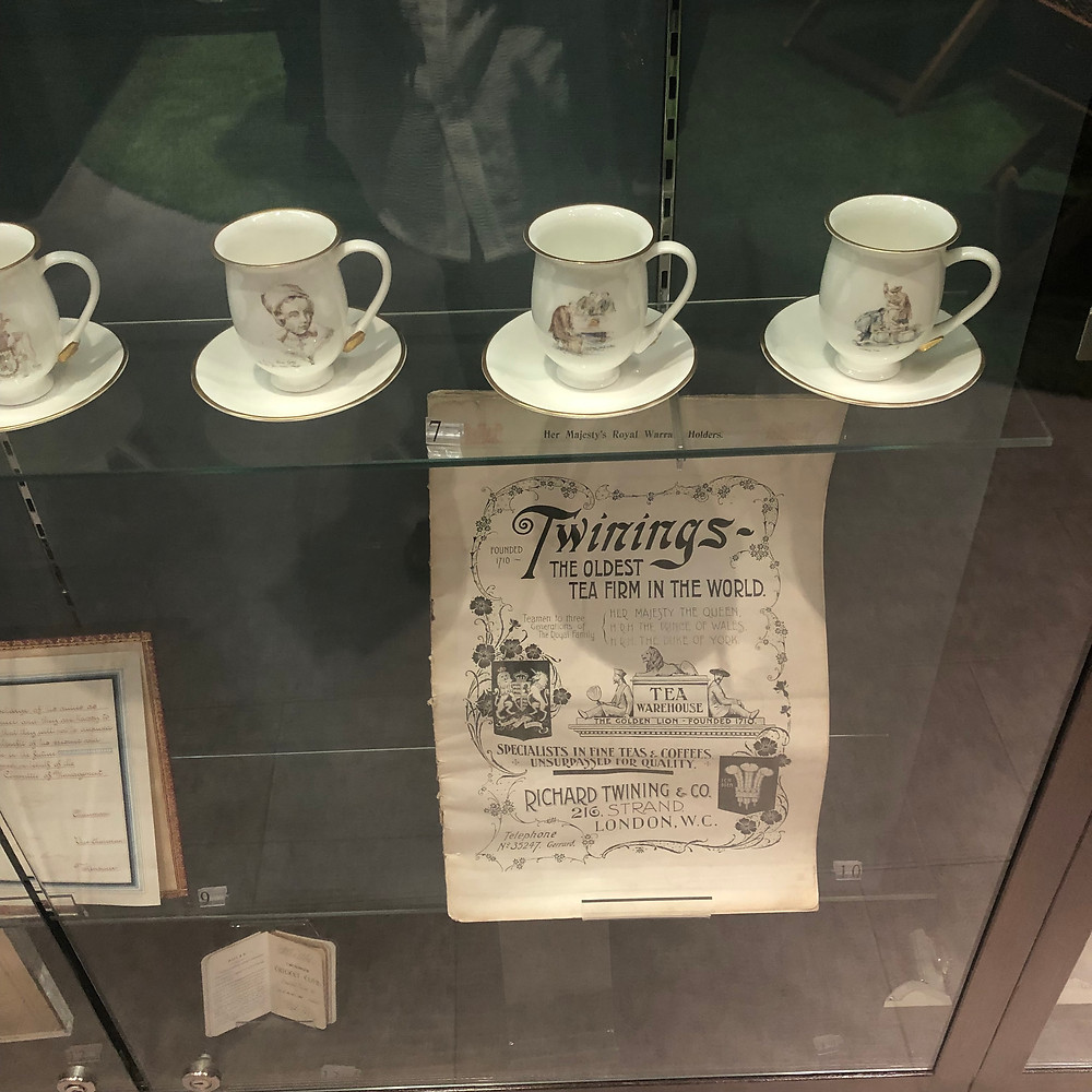 """Twinings – the oldest tea farm in the world""; an article showcasing Twinings history within the Twinings Museum 