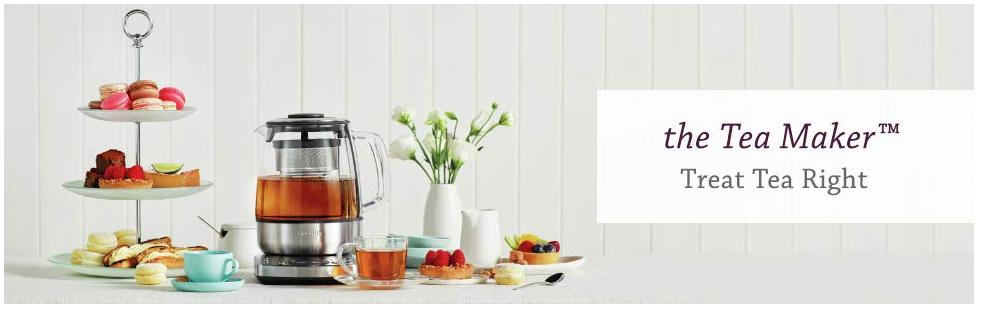 The Breville Tea Maker - Treat Tea Right