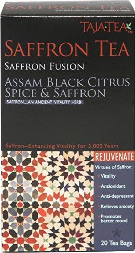 Assam Black Citrus Spice & Saffron by Taja Tea