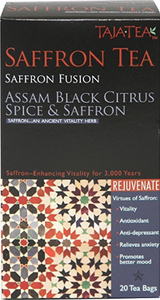 Assam Black Citrus Spice & Saffron by Taja Tea