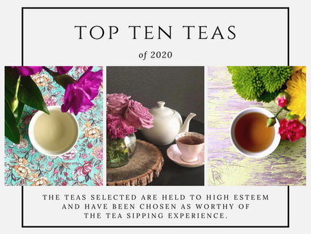Top Ten Teas of 2020