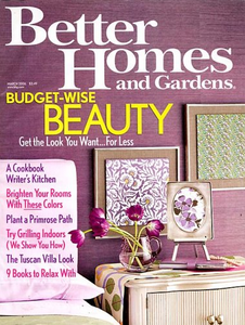 Long Live Paper | 2017 - Better Homes and Gardens Magazine