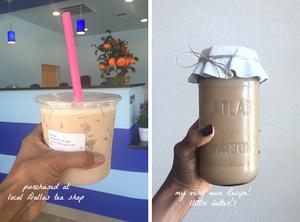 Recipes & DIY | Lavender Milk Tea