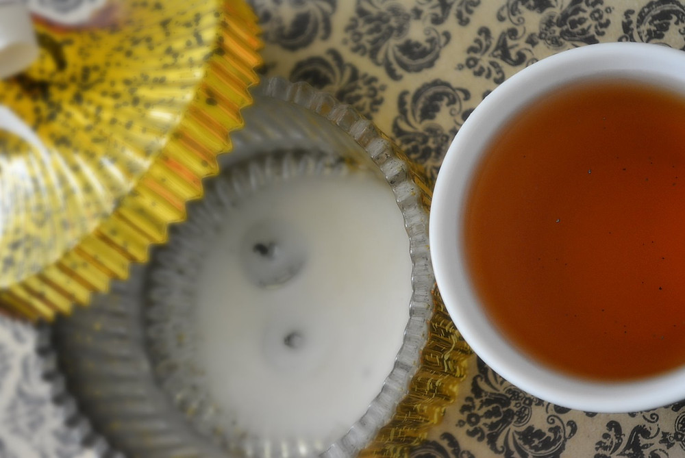 THE SCENT:  Vanilla Bean Organic Black Tea Blend | Arbor Teas