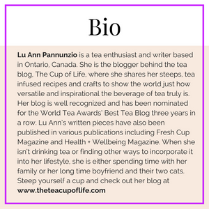 BLOGVIEW with LuAnn Pannunzio | Sip-ly Inspired