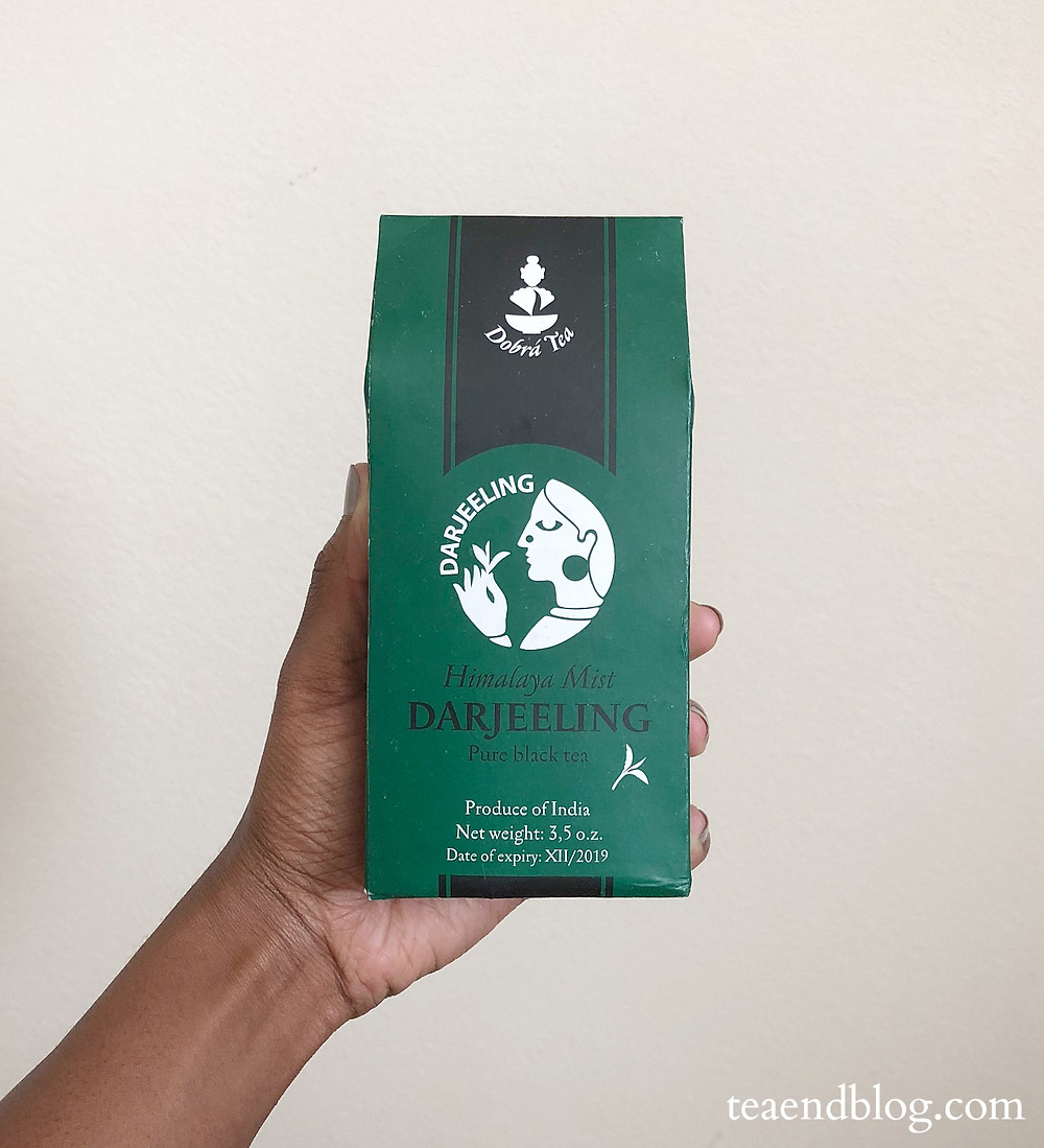 Himalaya Mist Darjeeling by Dobrá Tea in tea box