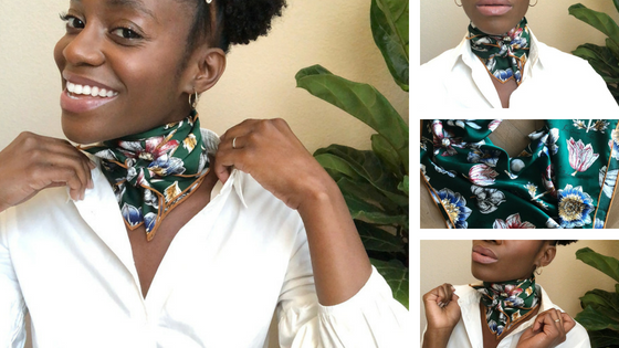 4 Ways You Can Style Your Short Scarf
