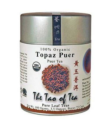 Not My Cup Of Tea! Topaz Pu'er | The Tao of Tea