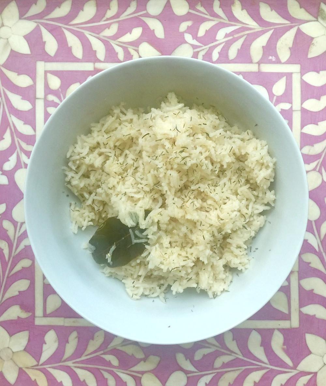 Recipes & DIY | Fennel Spice Tea Rice