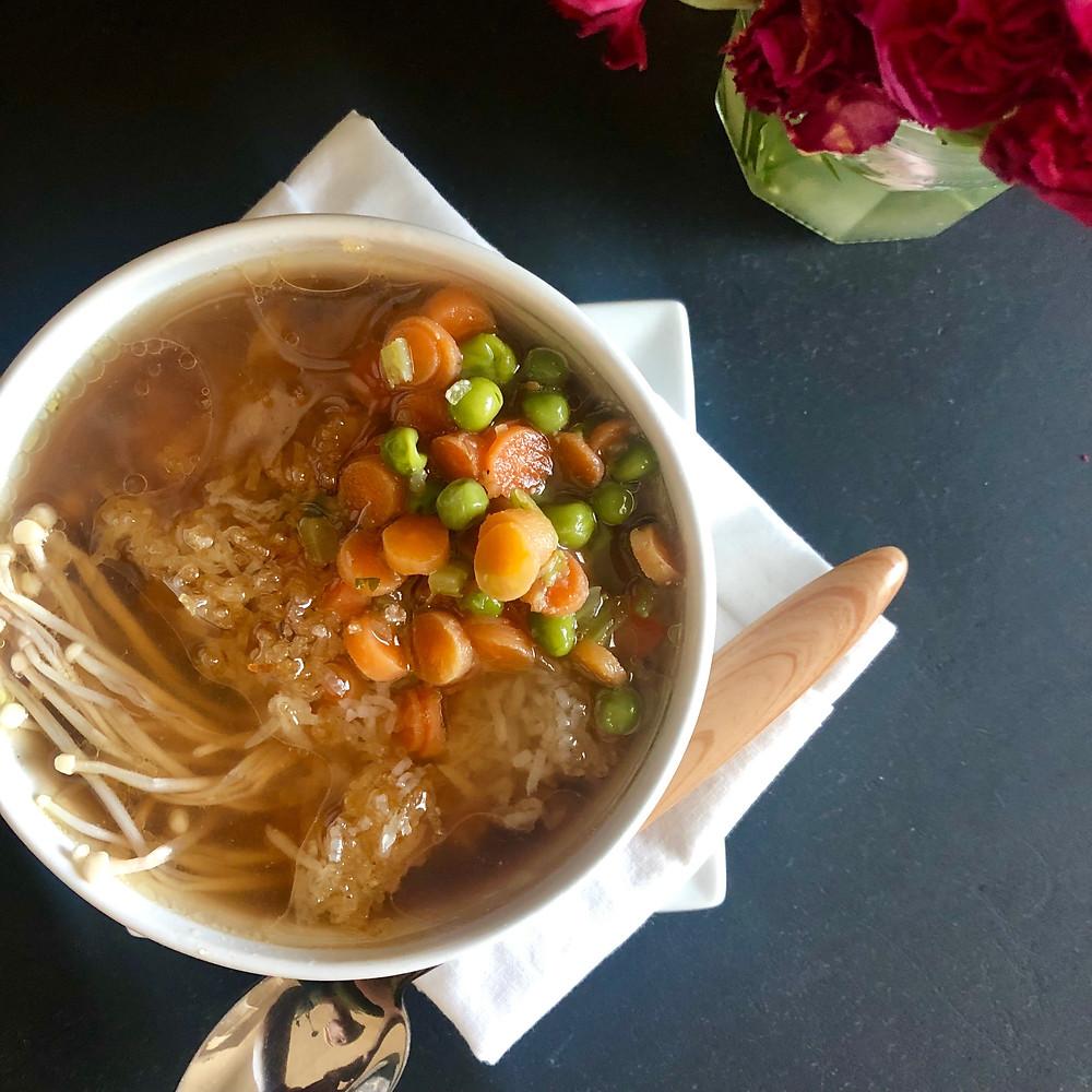Jasmine Tea Chicken Soup