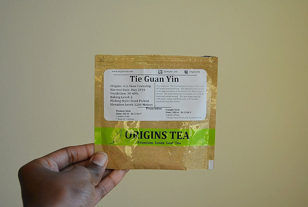 THE SIP:  Tie Guan Yin | Origins Tea