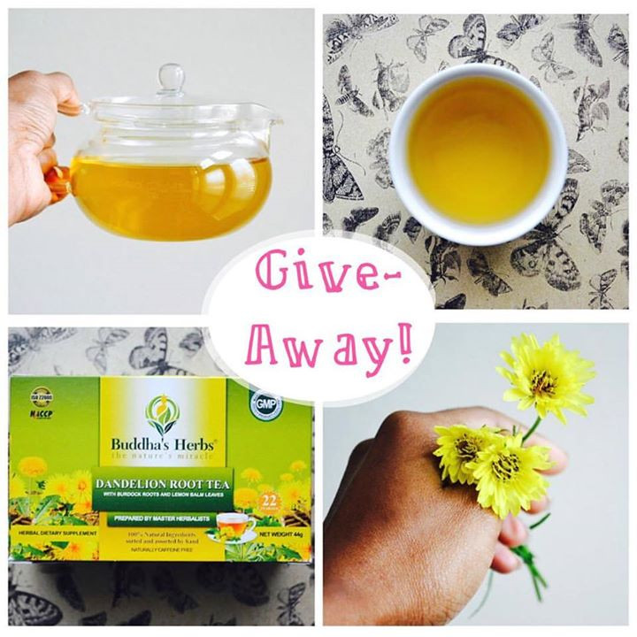 Tea End Blog Give-Away: Dandelion Root Tea | May 31 - June 5, 2016