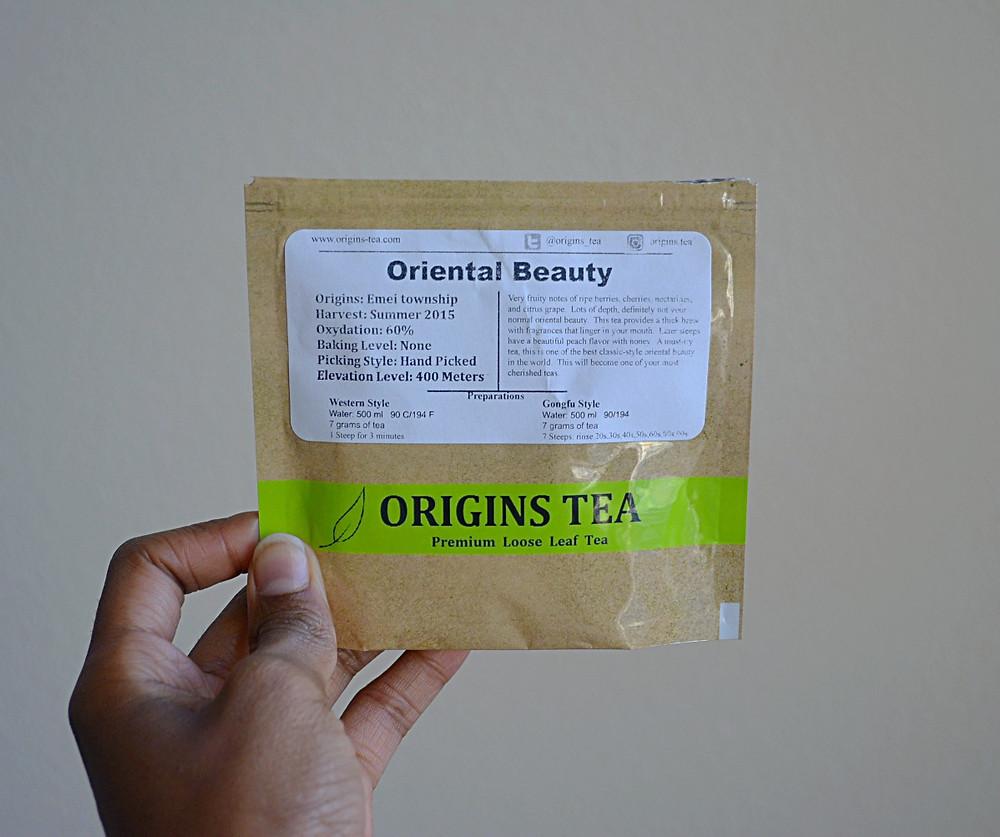 THE SCENT: Oriental Beauty   Origins Tea