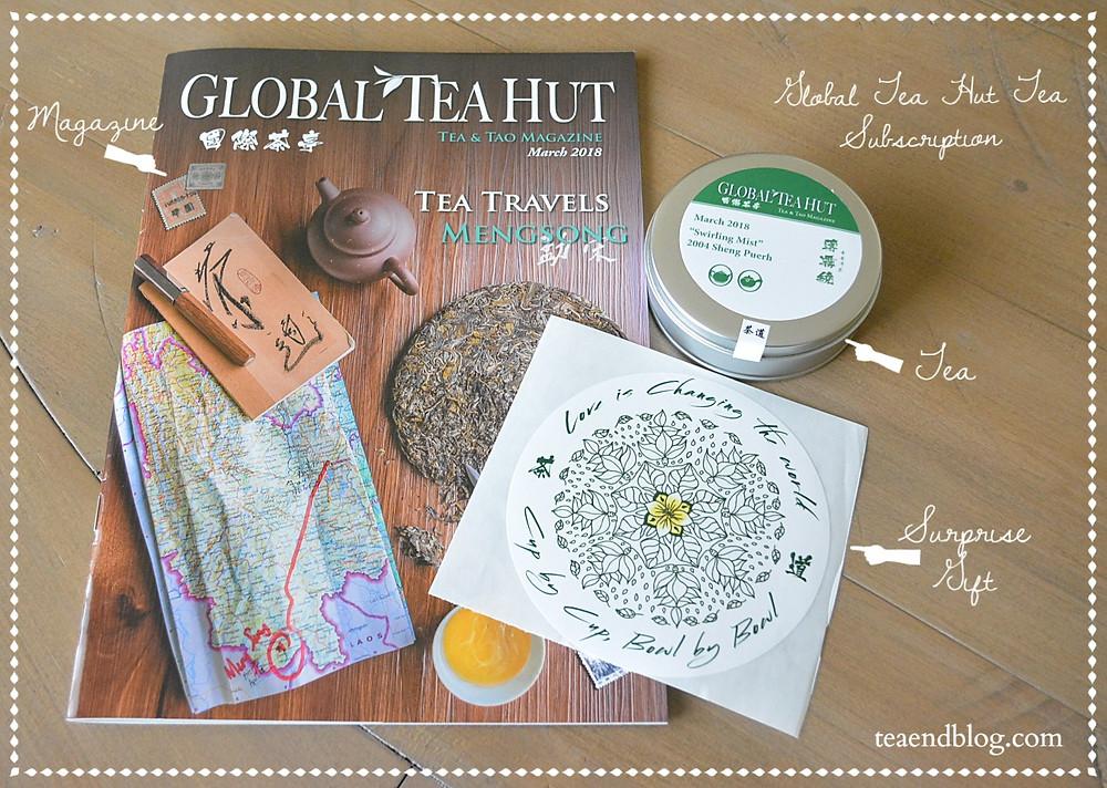 Tea Reviews: Swirling Mist Puerh | Global Tea Hut