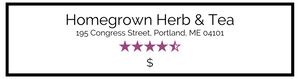 Homegrown Herb & Tea: address, rating, price range