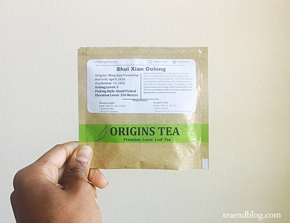 THE SIP: Shui Xian | Origins Tea