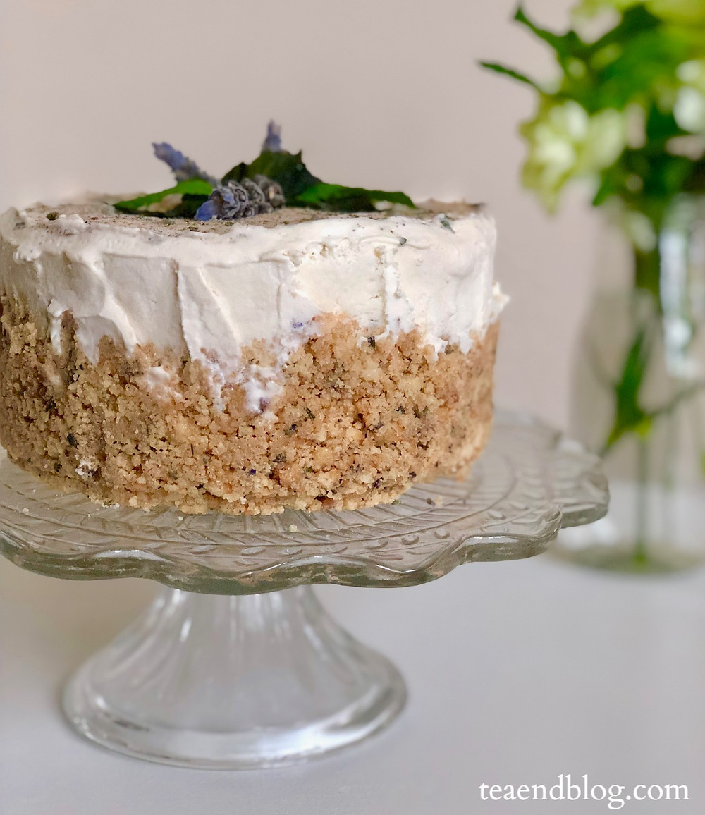 No-bake Lavender Tea Cheesecake