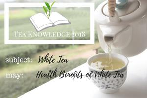 Tea Knowledge | 2 of My Favorite Health Benefits of White Tea