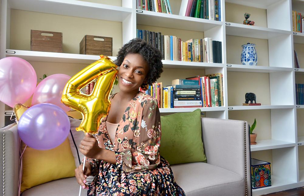 Celebrating 4 Years of Blogging!