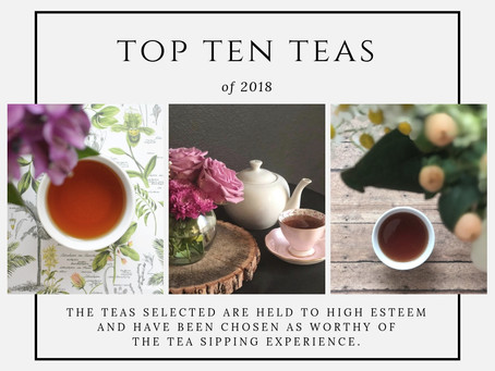 Top Ten Teas of 2018