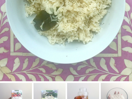 Fennel Spice Tea Rice
