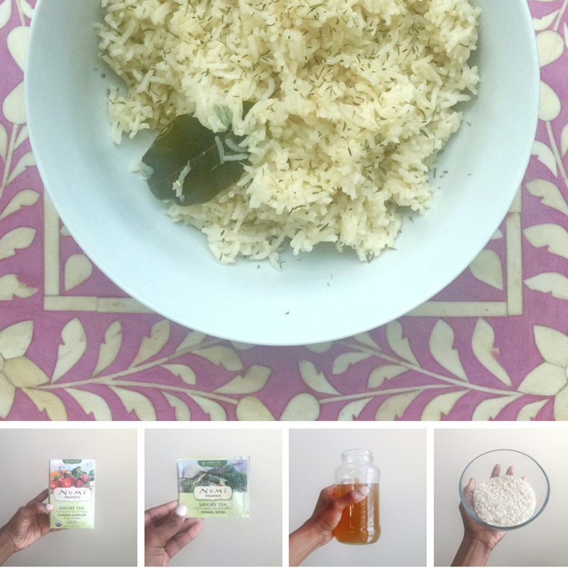 series: Recipes & DIY | Fennel Spice Tea Rice