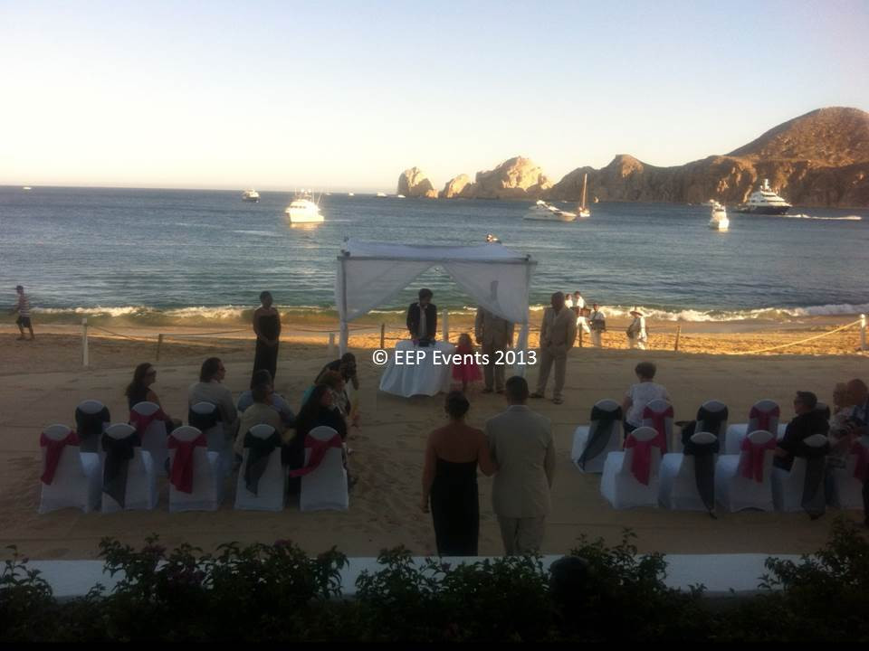 Medano Beach Wedding Processional