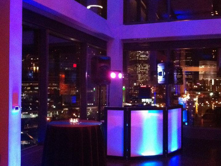 Not Just a Table in the Corner: Check out EEP Events' DJ Facades!