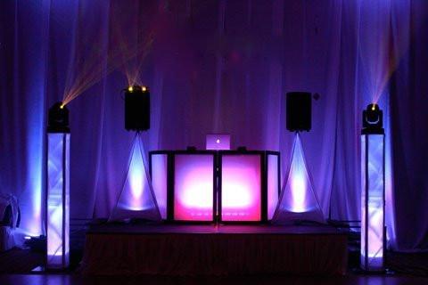 DJ Facade with Truss Lighting