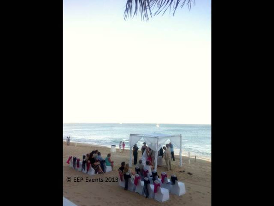 Medano Beach Wedding Ceremony