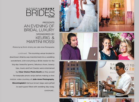 Published: EEP Events featured in Modern Luxury Brides Magazine