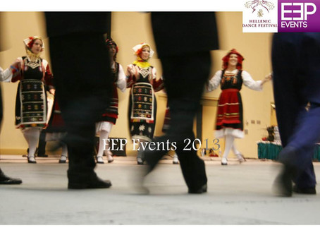 EEP Events Returns as Production Partner for The Southeast Hellenic Dance Festival 2013