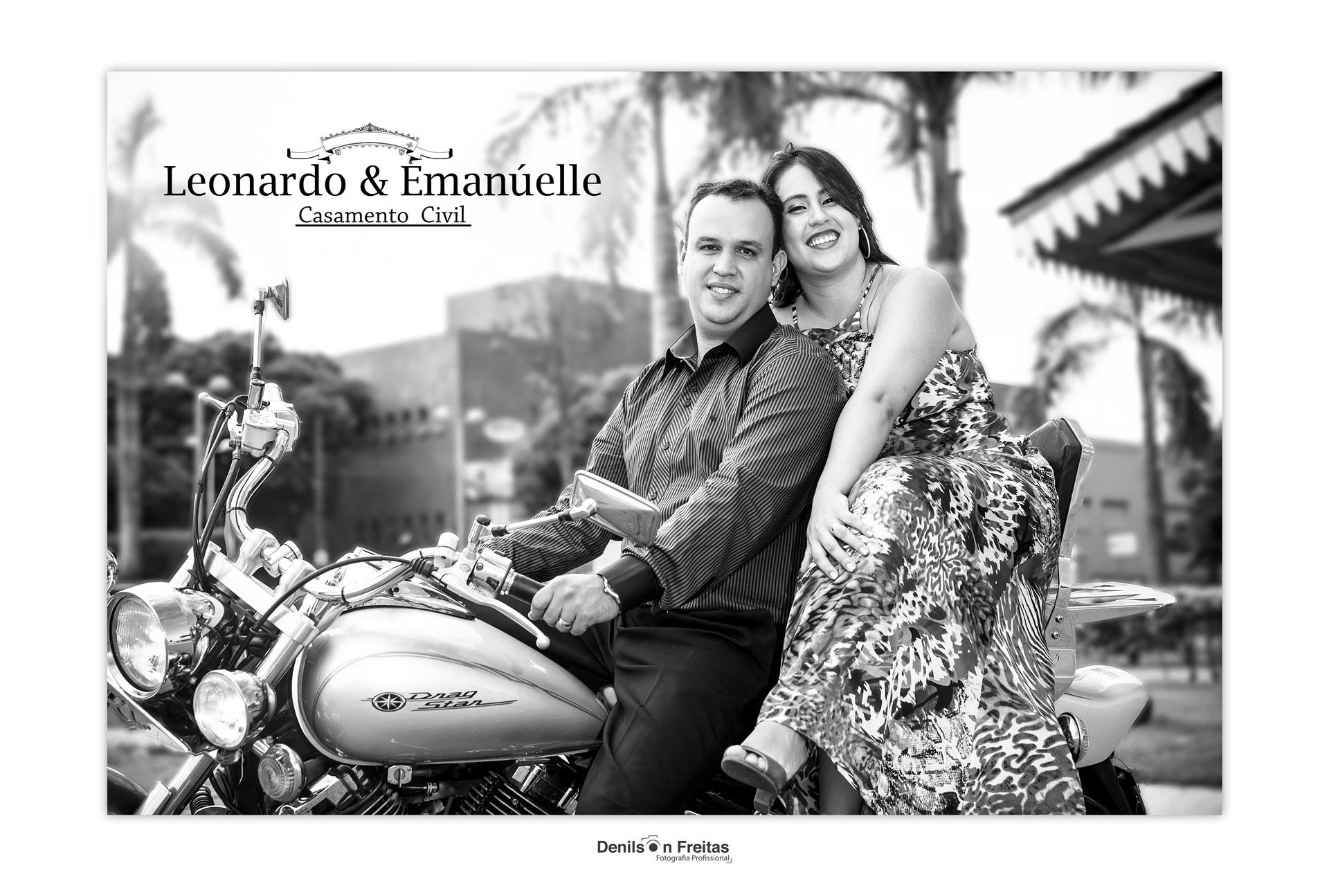 Enlace Civil - Emanuelle & Leonardo