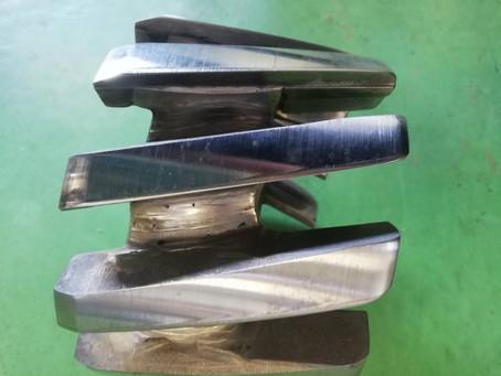 リングバーカー用刃物の再研磨