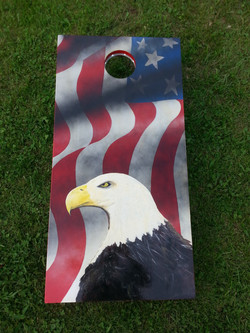 (Sold) AmeriEagle Corn Hole Boards
