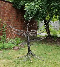 (Sold)  Steel Display Tree